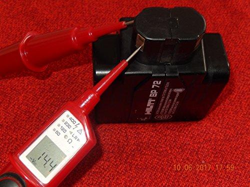Preisvergleich Produktbild HILTI BP 72 Ersatzakku 24V/3,0Ah für Akkubohrhammer TE 5 A, geprüft, über 14,0V Spannung hat,in TOP Zustand