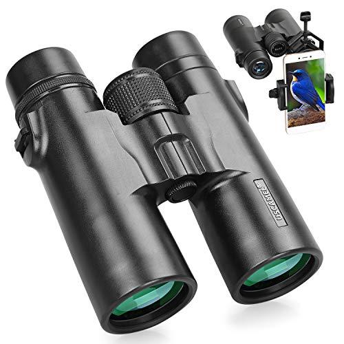 Prismáticos Profesionales 8x42 HD Binoculares Adultos