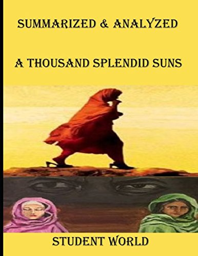 "Summarized & Analyzed: ""A Thousand Splendid Suns"" for sale  Delivered anywhere in UK"