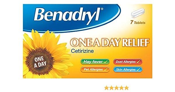 Benadryl One A Day Tablets 7