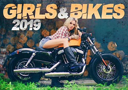 Girls and Bikes: The Sexy 2019 Motorbikes Calendar