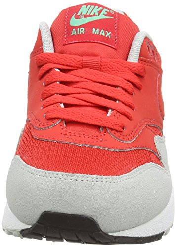 Nike Air Max 1 537383, Herren Low-Top Sneaker Rot