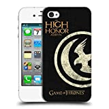 Official HBO Game of Thrones Arryn House Mottos Hard Back Case for Apple iPhone 4 / 4S