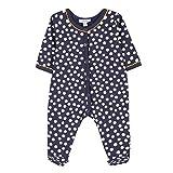 Absorba Boutique 9M54171, Pyjama Bébé Fille, Bleu (Marine 04), 3 Mois