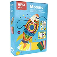 Apli kids 14291 Mosaic Eva Foam Crafting Kit, Various