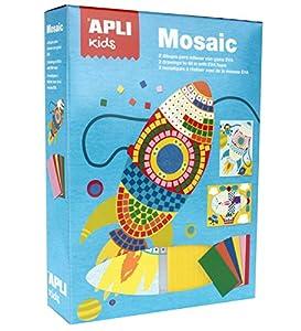 APLI Kids- Mosaico, Multicolor (14291)