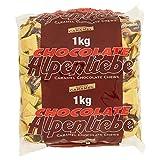 Alpenliebe Caramelle Mou Ripiene di Cioccolato Fondente, Gusto Choco Caramel, Confezione da 1000 gr