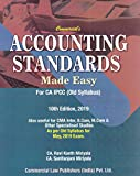 Commercial's Accounting Standards Made Easy for CA IPCC (Old Syllabus) 10th Edition 2019