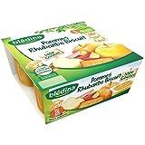Blédina coupelles fruits pomme rhubarbe biscuit 4 x 100 g dès 8 mois - ( Prix Unitaire ) - Envoi Rapide Et Soignée