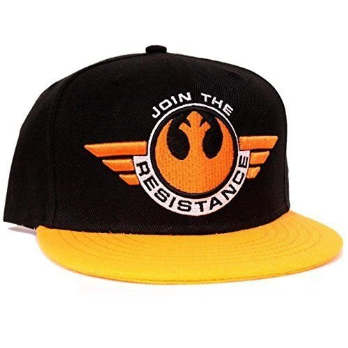 Star Wars Cap Join The Resistance Episode VII The Force Awakens Mütze Basecap Schirmmütze Snapback...
