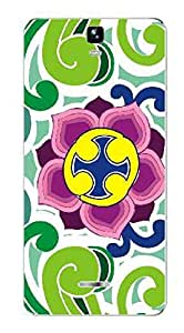 UPPER CASE™ Fashion Mobile Skin Vinyl Decal For Micromax Canvas HD Plus A190 [Electron...