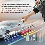 Sguan-wu 31 Stücke Auto Paintless Dent Repair Puller Slide Hammer Tabs Saugnapf Werkzeuge Kit