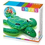Intex Lil' Sea Turtle Ride On 1.50m x 1.27m Swimming Pool Beach Toy #57524NP