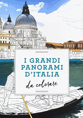 I grandi panorami d'Italia da colorare