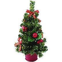 7a986f391b Piccolo Natale scrivania albero – rosso ...