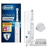 Oral-B Genius 10000N Elektrische Zahnbürste mit Zahnfleischschutz-Assistent & Premium Lade-Reise-Etui, weiß