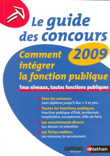 GUIDE DES CONCOURS 2009 N19