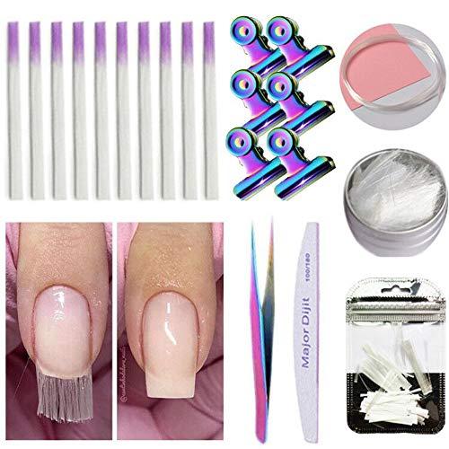YA-Uzeun - Uñas fibra vidrio uñas acrílicas