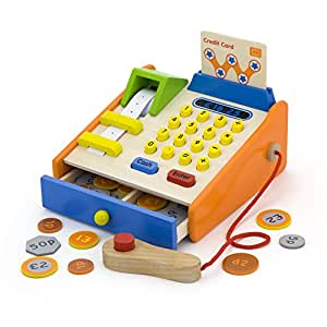 vortigern v51037 caisse enregistreuse en bois de marchand jeux et jouets. Black Bedroom Furniture Sets. Home Design Ideas