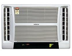 Hitachi RAV518HUD Summer QC Window AC (1.5 Ton, 5 Star Rating, White)