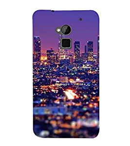 ifasho Designer Back Case Cover for HTC One Max :: HTC One Max Dual SIM (Cities Guangzhou China Bilaspur)