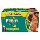 Pampers Baby Dry Windeln Größe 4 Maxi 7-18 kg x 132 Format Gigapack