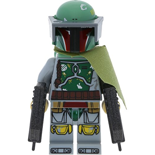 Preisvergleich Produktbild LEGO Star Wars Minifigur Boba Fett aus Set 75174 incl. 2 Waffen