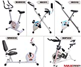 Max Strength Foldable Magnetic Exercise Bike Fitness Cardio Workout Weight Loss Trainer