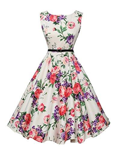 vogstyle-donna-cerimonia-gonna-vintage-anni50-scollo-a-v-damigella-gonna-a-ruota-da-sera-stile-1-ros