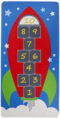 House Of Kids 12148-e3Spielmatte Riesen Hop 1Polyester Mehrfarbig 200x 0,5x 100cm