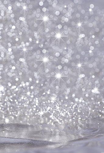 konpon 150x 220cm Baumwolle Polyester Gray Bokeh Fotografie Hintergrund waschbar Neugeborene Foto Studios Baby Requisiten Hochzeit Hintergrund dropkp-334