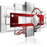 murando - Impression sur toile - 200x100 cm cm - 5 pieces - Image sur toile - Images - Photo - Tableau - motif moderne - Décoration - tendu sur chassis - abstraction abstrait a-A-0140-b-n