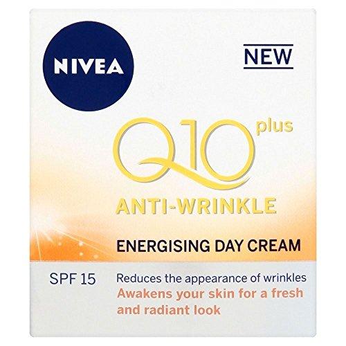 Nivea Q10 Plus Anti-Rides Jour Energisant Crème SPF 15 (50 ml) - Paquet de 6