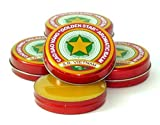 12 Boxes X 3 Grams (Net Weight), Golden Star Balm, Cao Sao Vang Vietnam, Aromatic Balsam by Golden Star Balm