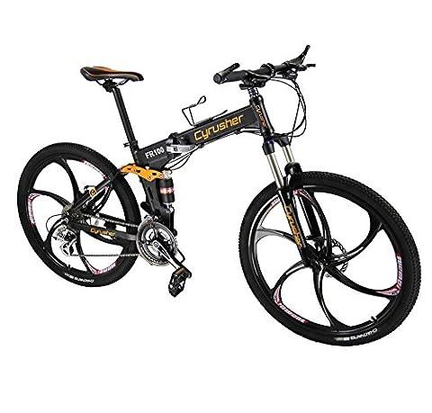 """VTT Pliant 26"""" Extrbici® FR100 Vélo Pliable de Montagne en Alliage d"""