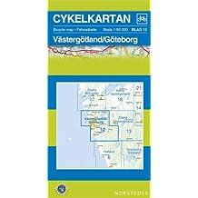 Vastergotland/Goteborg Cycling Map: SE.CYK.12