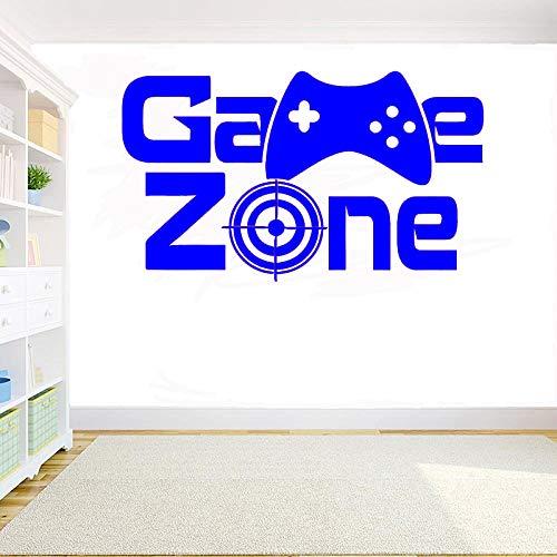yaoxingfu Gamer Vinyl Wandaufkleber Xbox Game Zone Eat Sleep Game Controller Video Spiel DIY Wandtattoo Für Kinder Schlafzimmer Dekoration ww-3 71x42 cm
