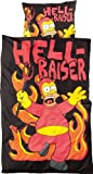 United Labels 116483 - Bettwäsche Simpsons 135x200cm / 80x80cm