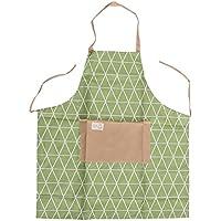 Runrain Rhombus - Delantal Impermeable para Cocina, Restaurante, Cocinero