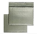 Luftpolstertaschen ALU ohne Fenster 250 x 330 mm Silber 10Stck