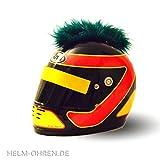 Helm-Irokese für den Motorradhelm, Crosshelm, Motocrosshelm oder Skihelm - Helm-Cover -...