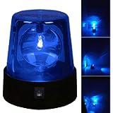 4.5' Rotating LED-Beacon Flashing Light, Red Flashing-Beacon Party Lamp DJ Strobe Light for Indoor Alert Light or DJ…