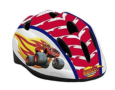 Toimsa 10905Boy Bike Helmet–Blaze and Monster Machine, Red from TOIMSA