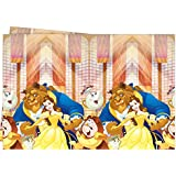 Procos Disney Beauty & The Beast Plastic Party Tablecover