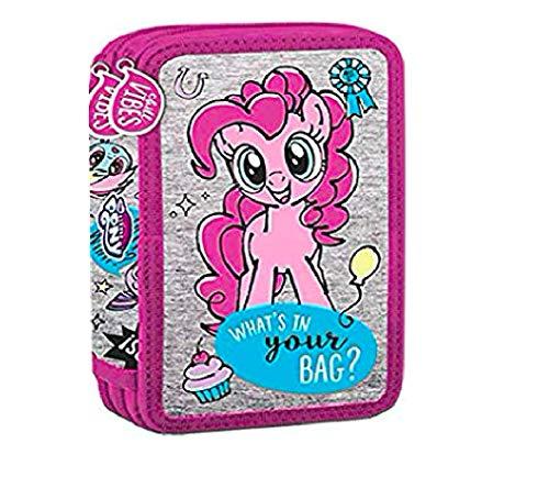 My Little Pony PFERD EINHORN HASBRO 26 x TEILE DOPPELSTÖCKIG FEDERTASCHE FEDERMAPPE GEFÜLLT mit Sticker von kids4shop - Pony-spielzeug Gefüllt Little My