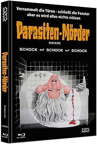 Parasiten-Mörder - Shivers [Blu-Ray+DVD] - uncut - auf 555 Stück limitiertes Mediabook Cover A