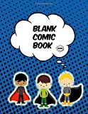 Zoom!: (8.5' X 11') Blank Comic Book Create Your Own Comic Book, Manga, Anime for Kids Gift for Artists and Kids Who Love to Draw