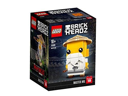 Meister Wu - Entdecke den Ninja in dir mit LEGO® BrickHeadz Meister Wu!