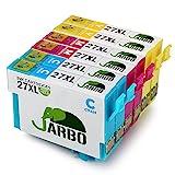 JARBO Ersetzt für Epson 27XL 27 Druckerpatronen (2 Blau, 2 Rot, 2 Gelb) mit hoher Reichweite für Epson WorkForce WF-3640 WF-3620 WF-7720 WF-7715 WF-7710 WF-7620 WF-7610 WF-7210 WF-7110