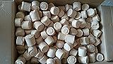 Holzbrikett, rund 30 kg im Karton (0,44€/kg)